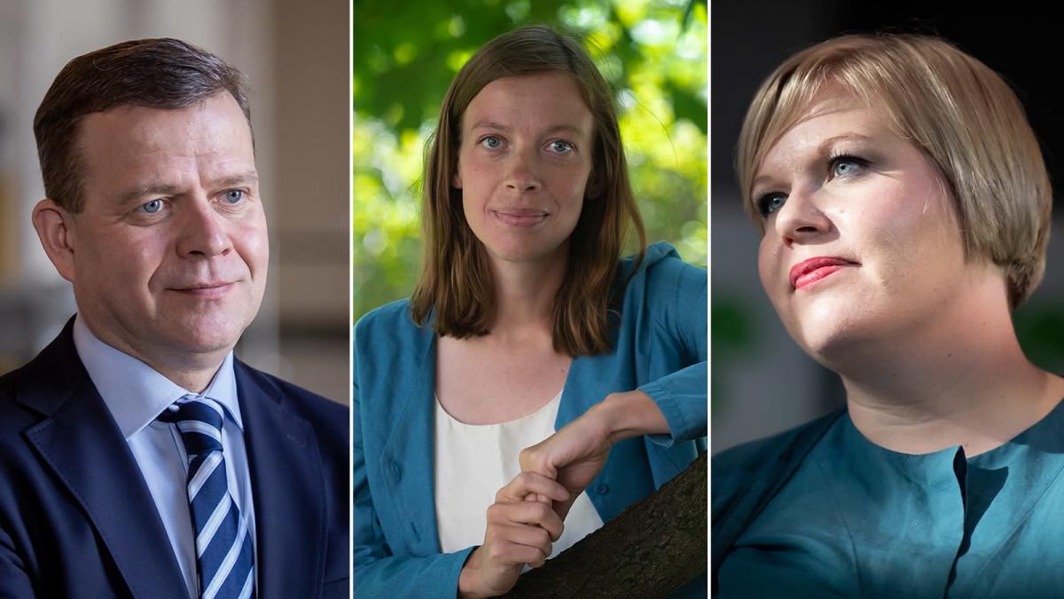 Hallituksen kaataja, punavihreä radikaali ja keskustan kestosuosikki yhteisellä estradilla – katso tallenne Yle Turun suorasta puheenjohtajatentistä