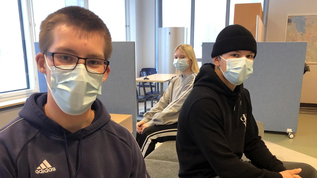 Koronaepidemia leviää Hämeessä – katso, mitä ysiluokkalaiset miettivät tilanteesta