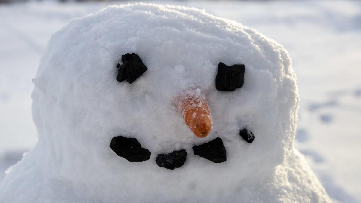 Näin rakennat lumiukon pakkaslumesta