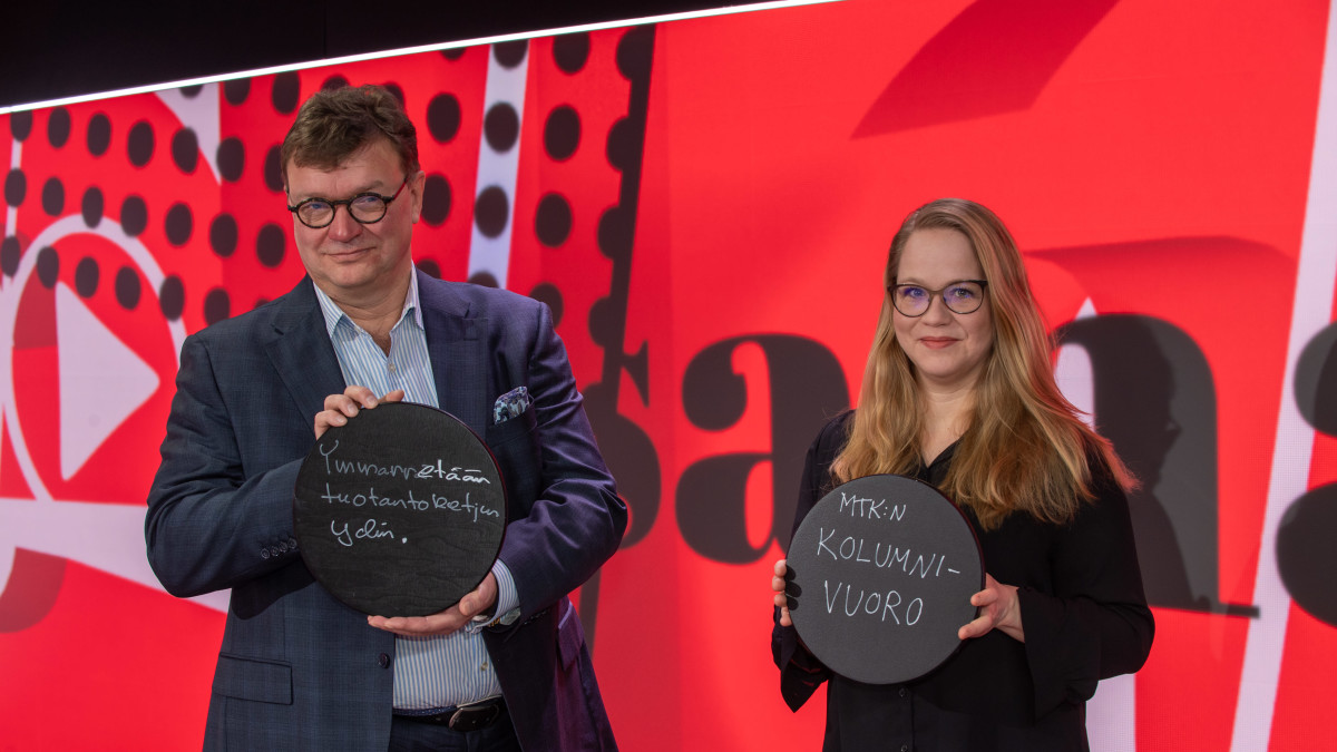 Viimeinen sana vieraat Anu Silfverberg ja Jouni Kemppainen.