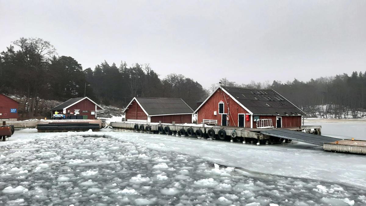 Talvinen Seilin saari houkuttelee etätöihin ja lomalle