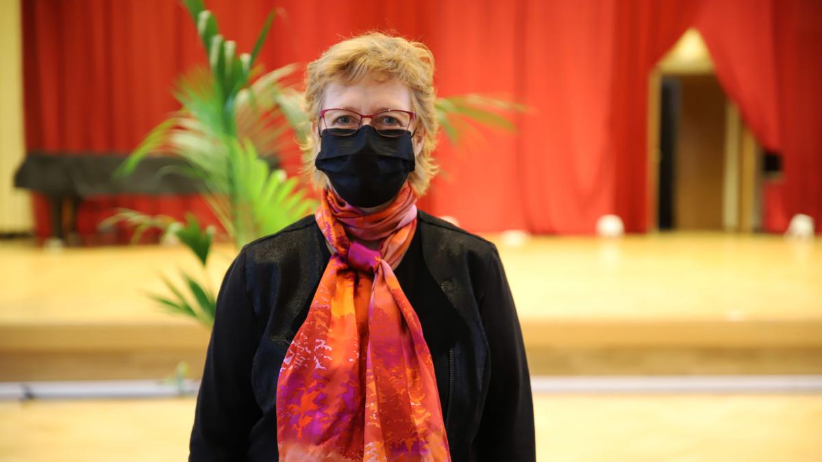 Kymi Sinfoniettan toimitusjohtaja Riikka Luostarinen.