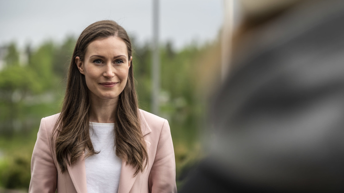Sanna Marin vierailemassa Mikkelissä 31.5.2021. Vierailun aikana Marin tapasi kaupungin ja maakuntaliiton edustajia.