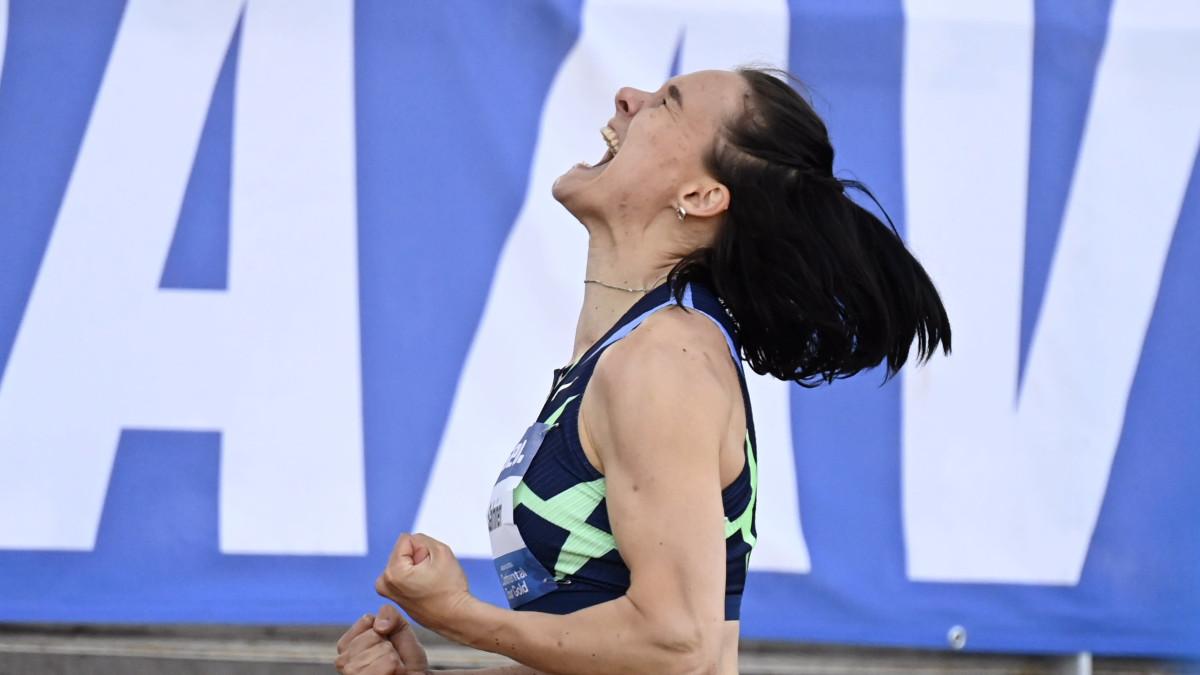 Senni Salminen loikki Suomen ennätyksen ja olympiarajan
