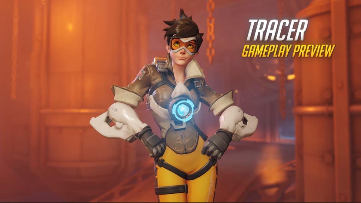 Overwatch-konsolipelin Tracer-hahmo