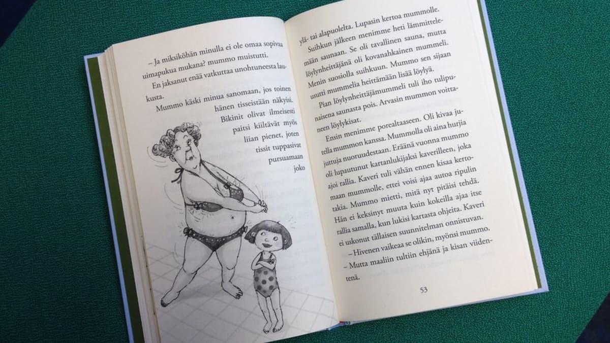 Maria Kuutin kirja Anna ja Elvis kylpylässä (2014)