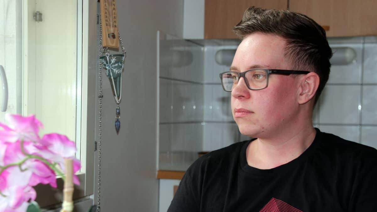 Joensuulainen Roope Tiihonen on käynyt läpi sukupuolenkorjauksen