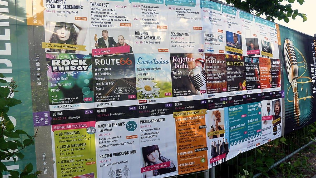 Tänäkin vuonna Imatra Big Band Festivaaleilla on jälleen monipuolinen musiikkitarjonta.