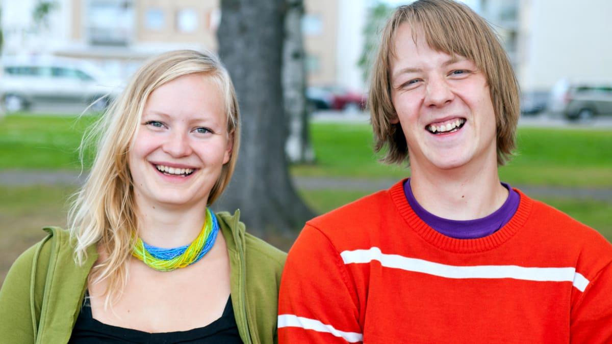 Säveltäjä Jenni Hanikka ja äänisuunnittelija Antti Koukonen.