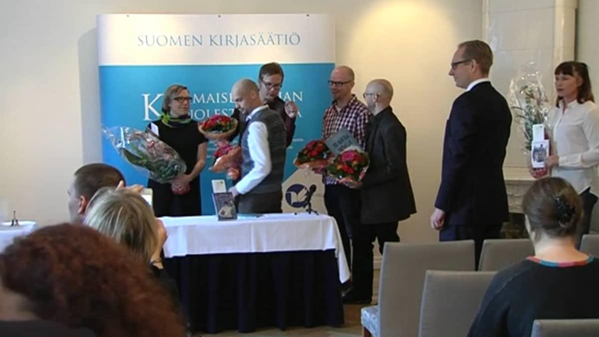 Finlandia junior ehdokkaat.