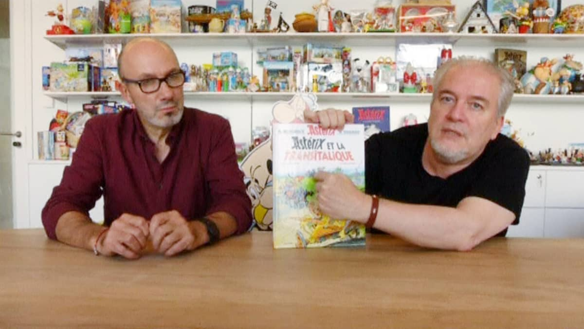 sarjakuva-hahmo Asterix.