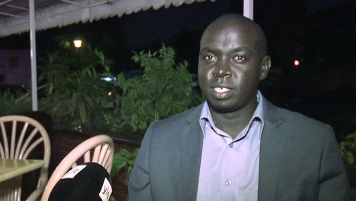 Kenialainen startup-yrittäjä, Toto Healthin toimitusjohtaja Felix Kimaru.