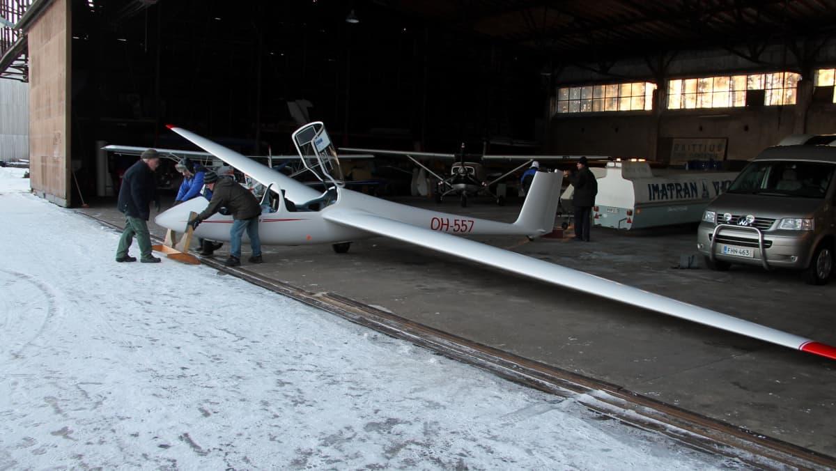 purjelentokone, Imatran ilmailukerho