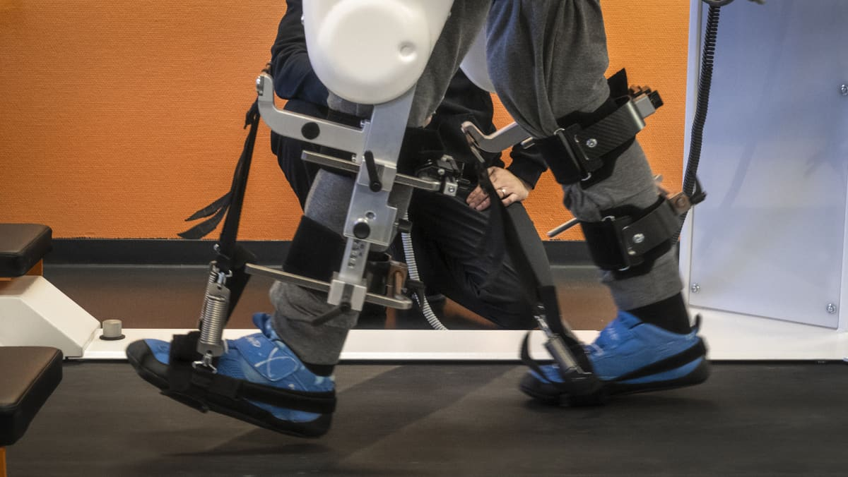 Kävelyrobotin kuntouttava vaikutus perustuu suuriin toistomääriin.