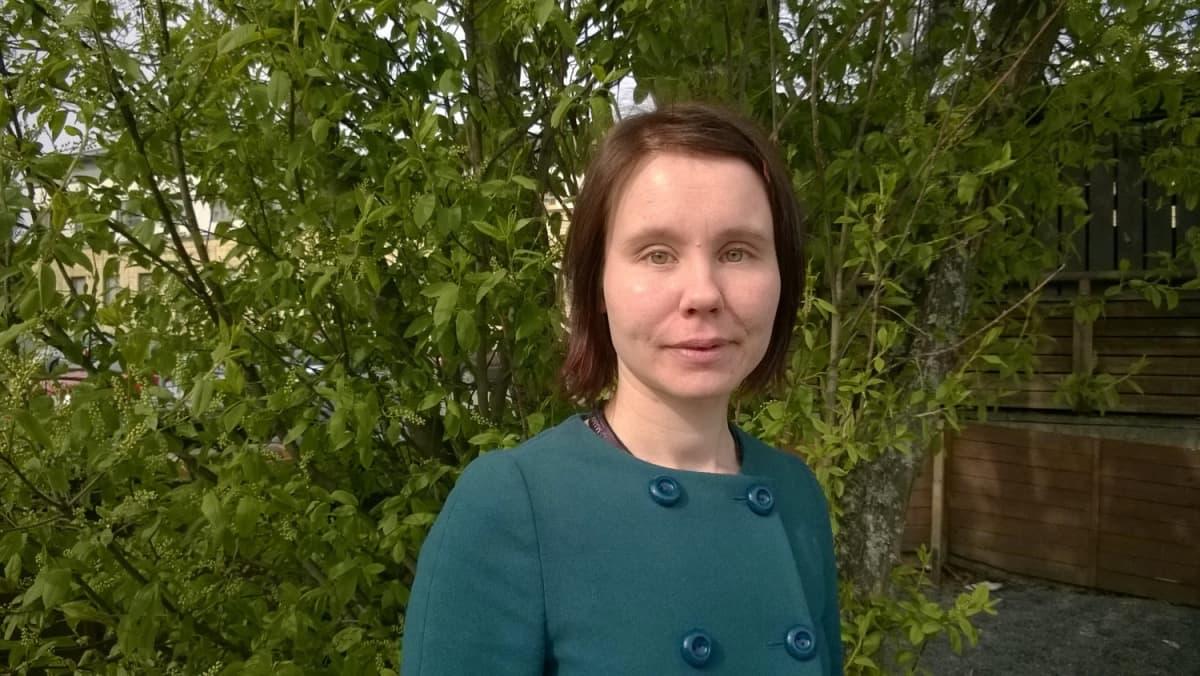 Laura Hokkanen työskentelee yliopettajana Mikkelin ammattikorkeakoulussa.
