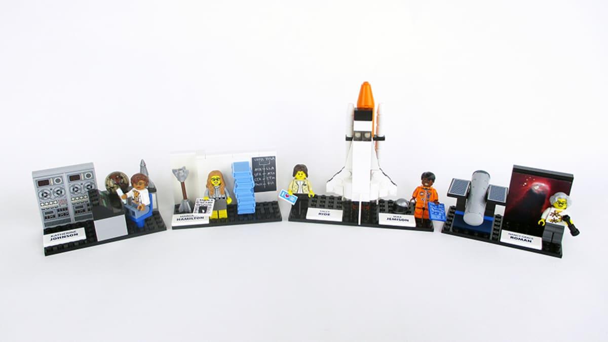 Legon naisastronautit.