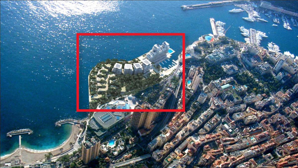 Ilmakuva Monacosta