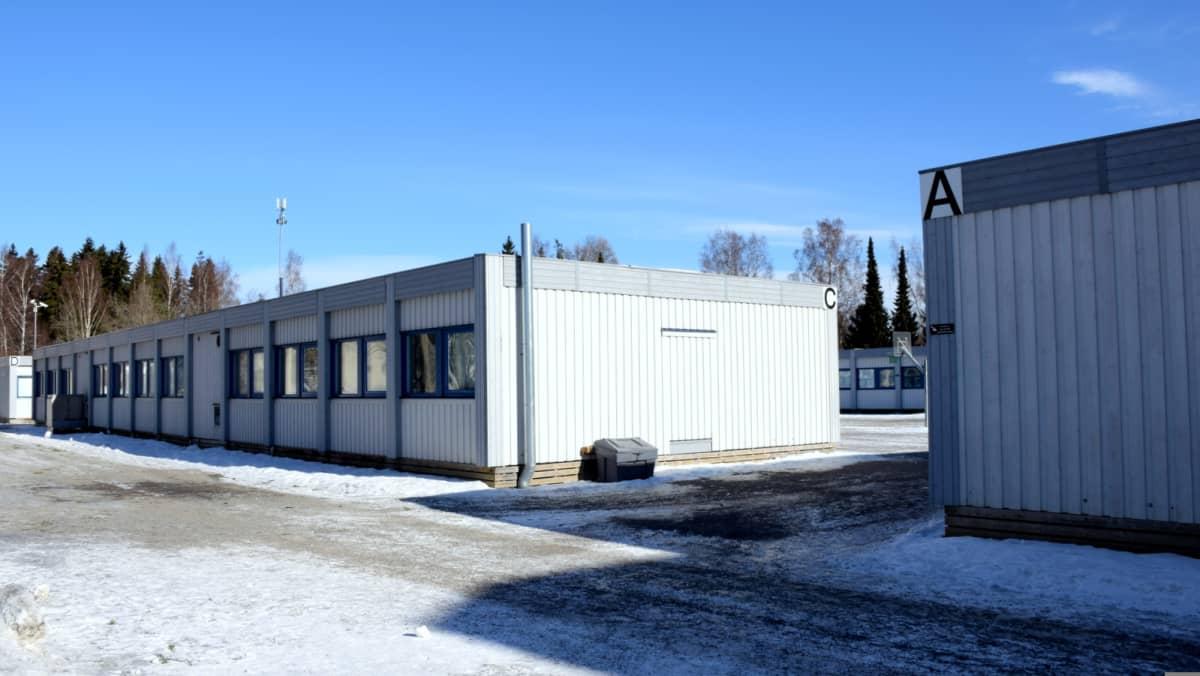 Hämeenlinnan yhteiskoulun barakit
