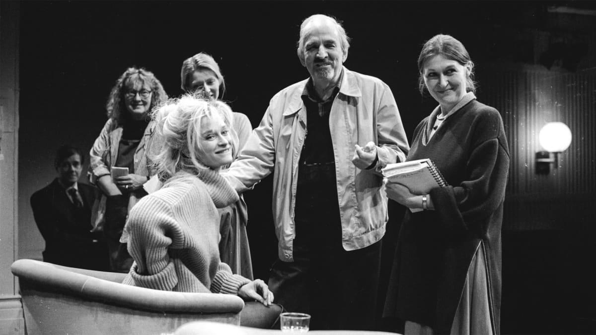 Bergman ohjaa näyttelijättäriä