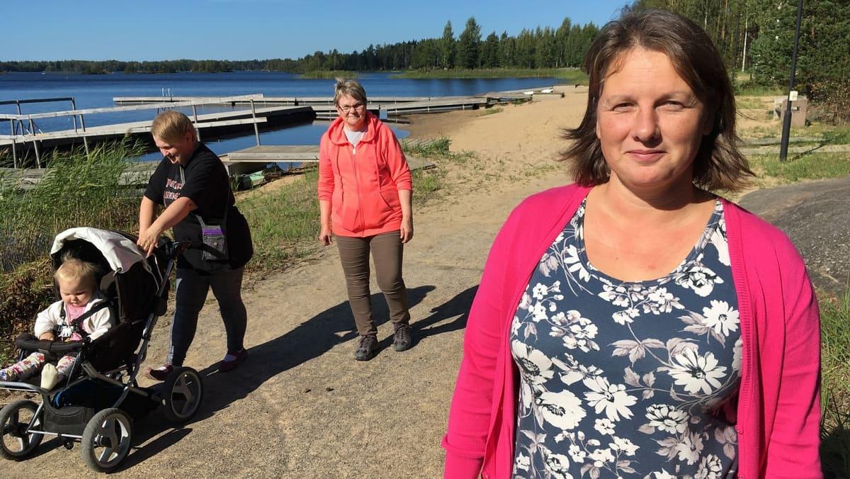 Siikaisten kunnanjohtaja Viveka Lanne.