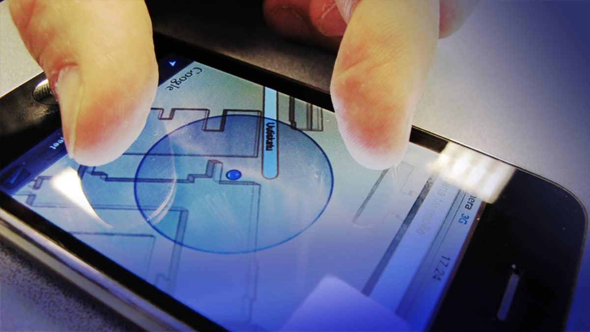 Iphone ja sormet