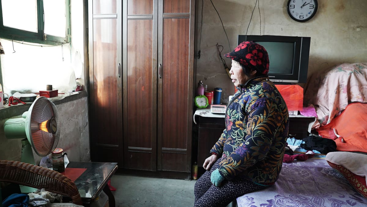 Eläkeläisrouva Wang Yuzhen