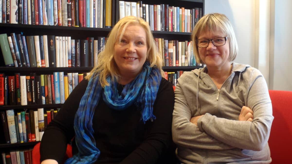 Tuija Tekin ja Petra Karjalainen