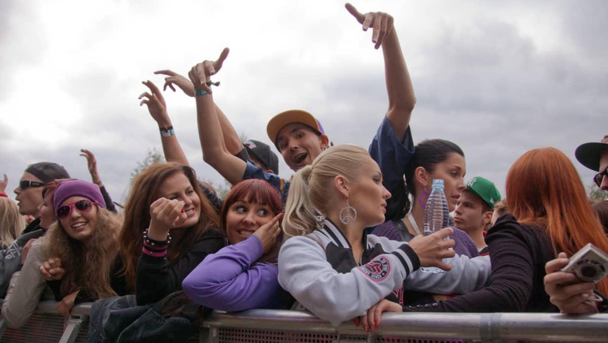 Jurassic Rock 2012, festivaaliyleisö