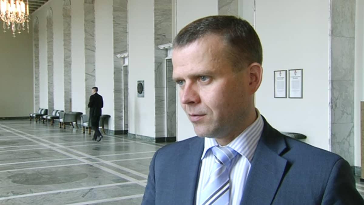 Kokoomuksen eduskuntaryhmän puheenjohtaja Petteri Orpo.
