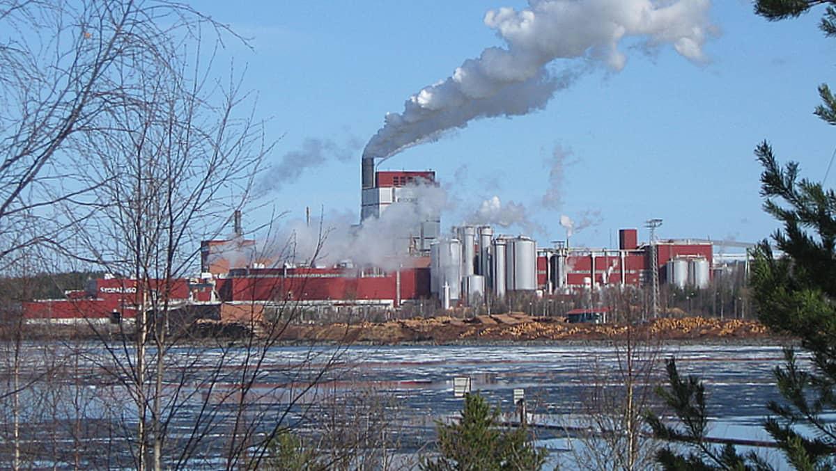 Stora Enson Uimaharjun tehdas.