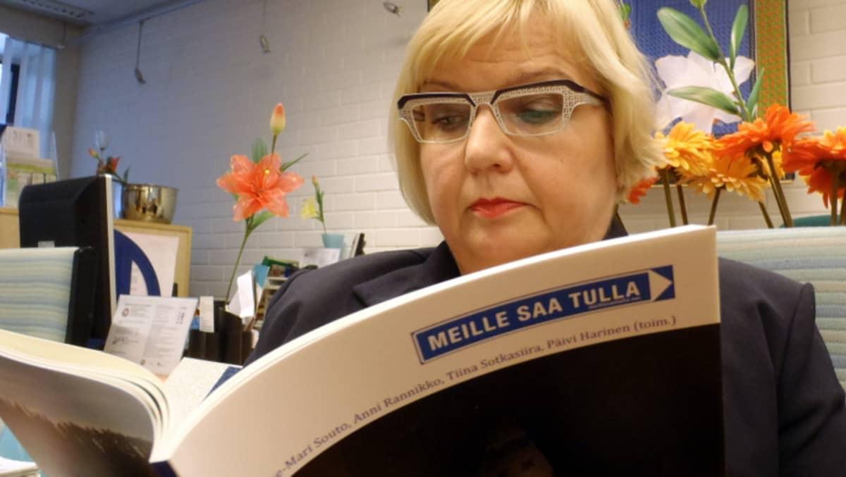 Sisäministeriön sisäisen turvallisuuden sihteeristön päällikkö Tarja Mankkinen.