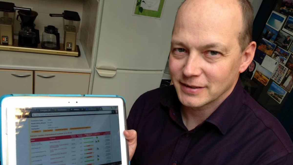 Sähkön hinnan voi kilpailussa mm. Energiaviraston verkkosivuilla.