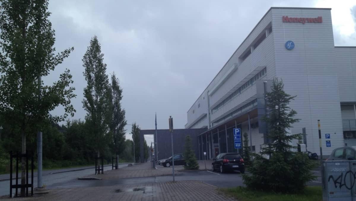 Technopoliksen talo Kuopion Viestikadulla