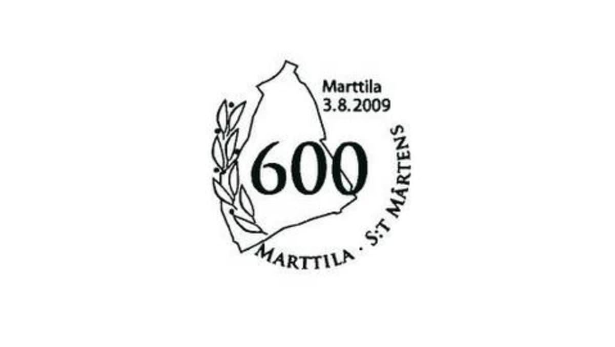 Marttilan kunnan juhlavuoden erikoisleiman on suunnitellut Tapani Talari.