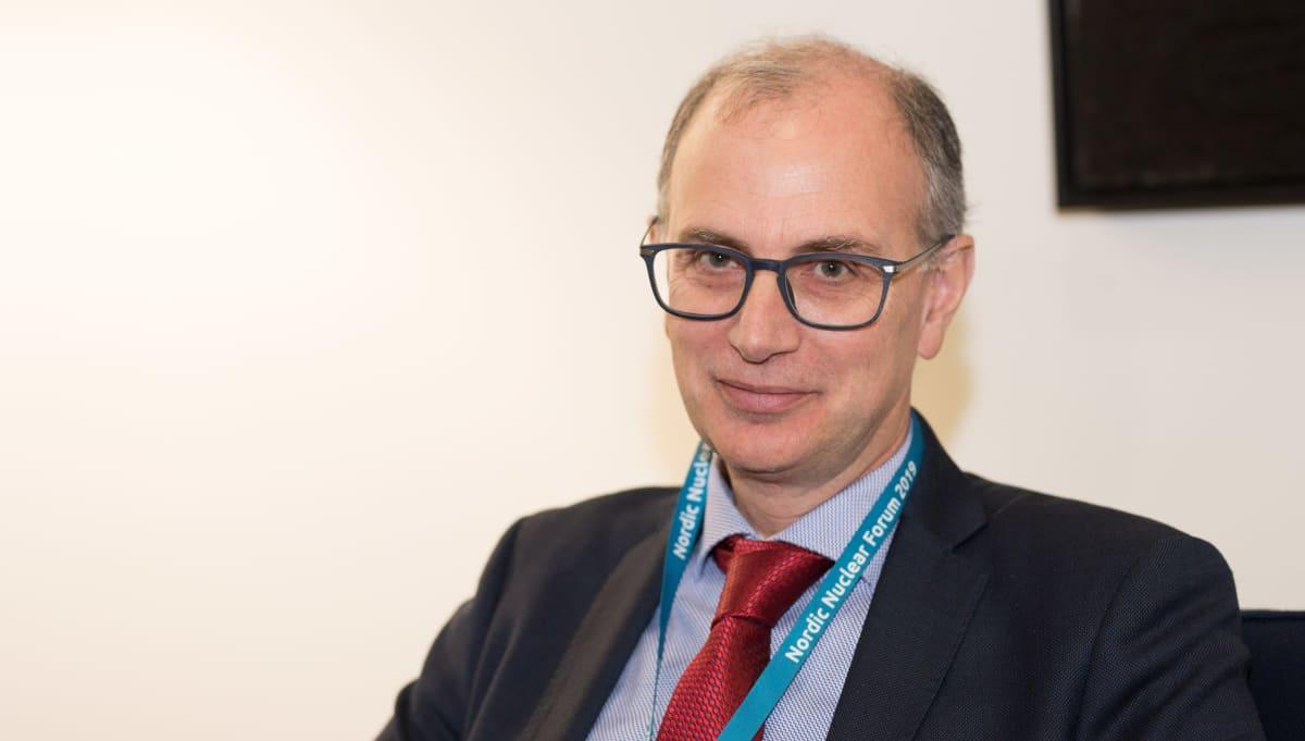Euroopan komission ydinvoimasta vastaava johtaja, Massimo Garribba