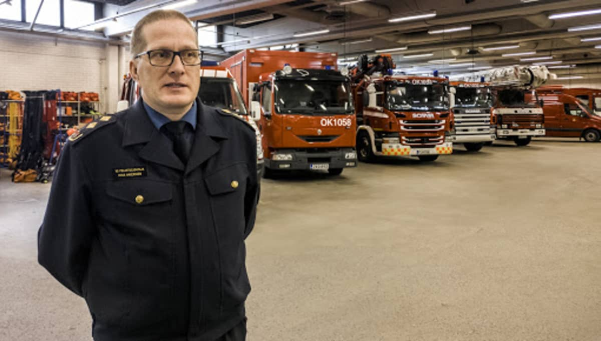 Oulu-Koillismaan pelastuslaitoksen vs. pelastusjohtaja Mika Haverinen 24.9.2018.