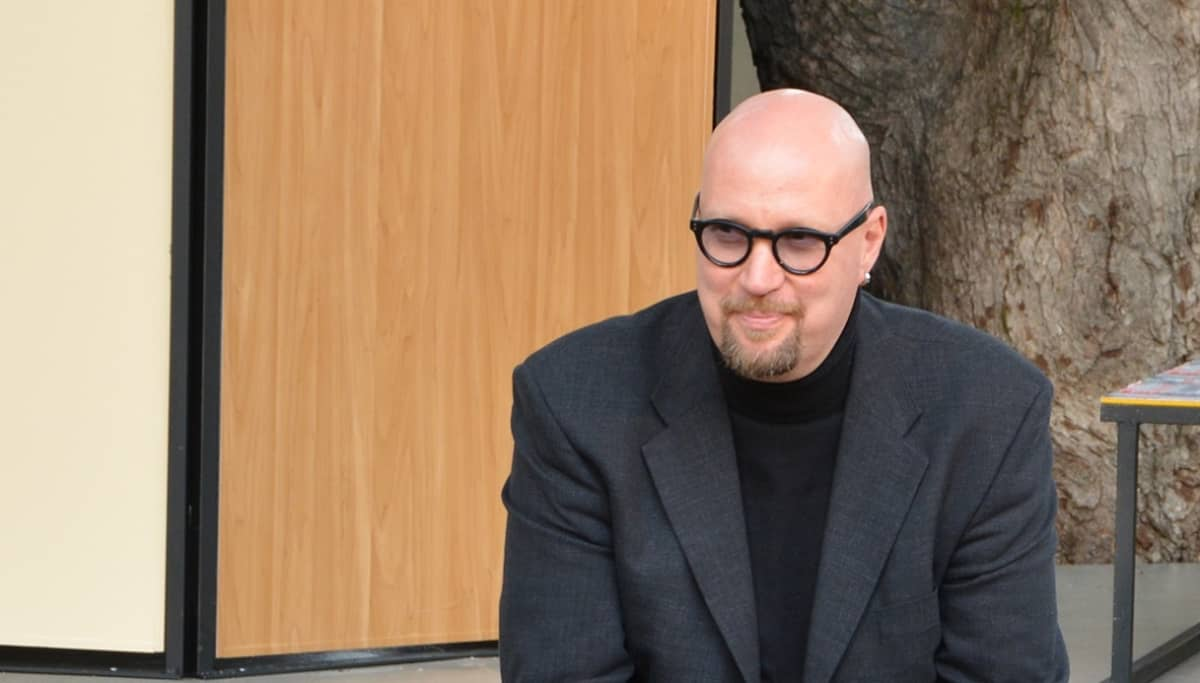 Kirjailija Juha Vuorinen