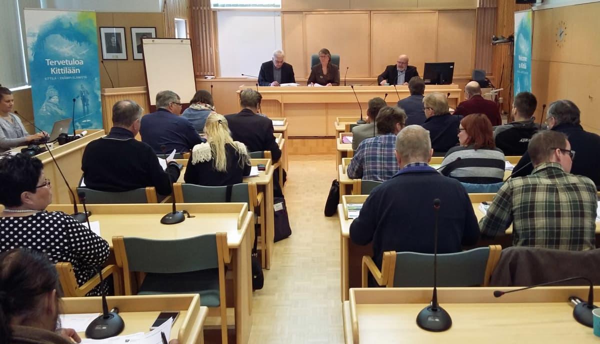 Kittilän kunnanvaltuuston kokous
