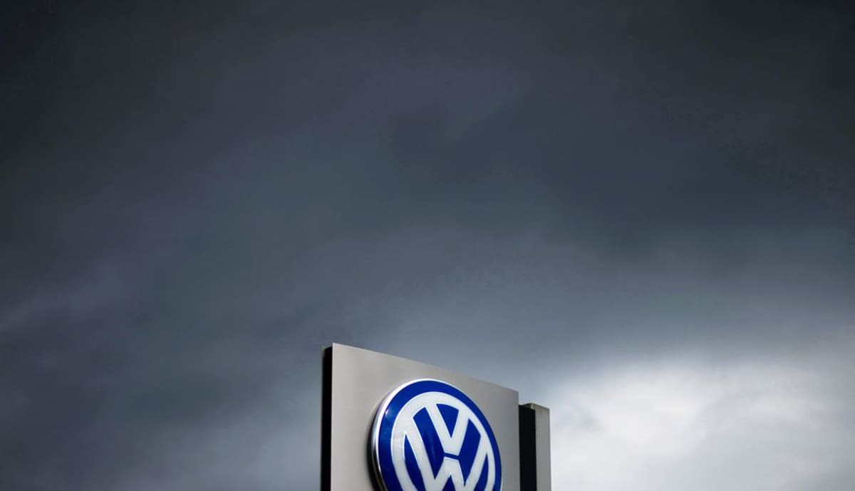 Volkswagenin logo.