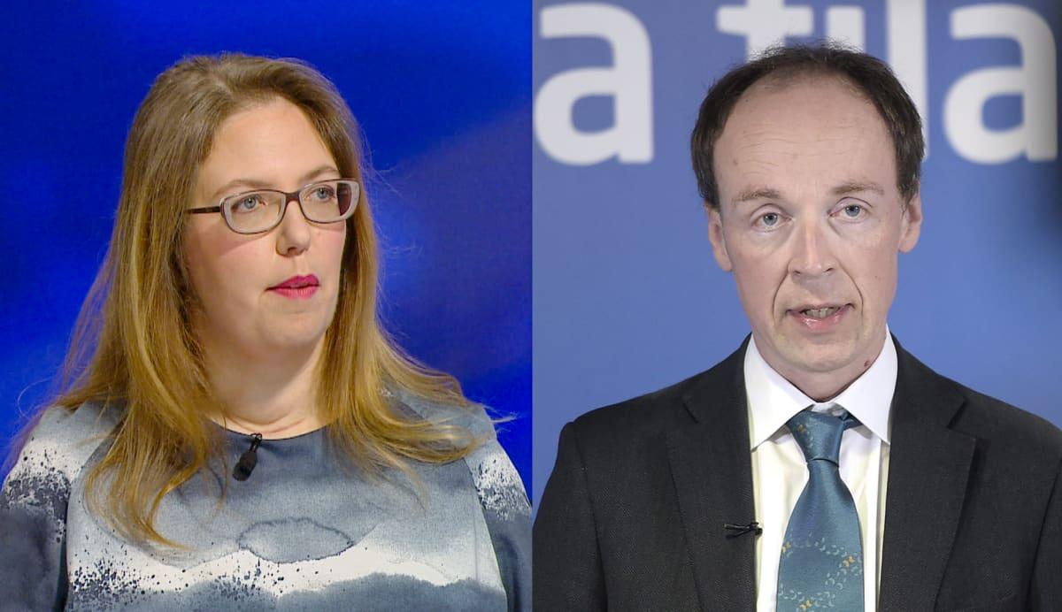 Emilia Palonen ja Jussi Halla-Aho