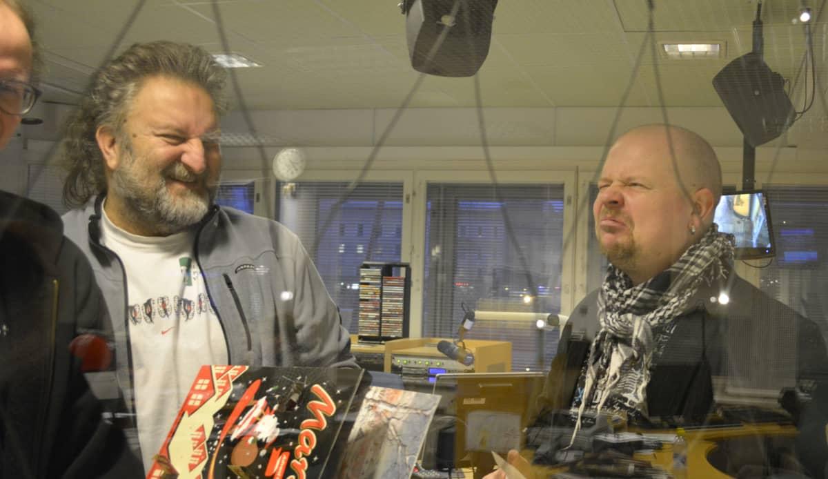 Hanski Kinnunen ja Juha-Petri Koponen