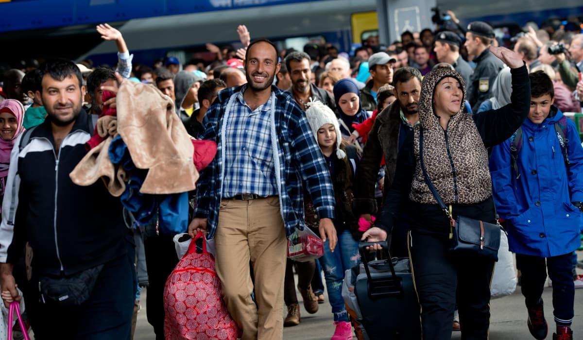 Turvapaikanhakijoita Saksassa