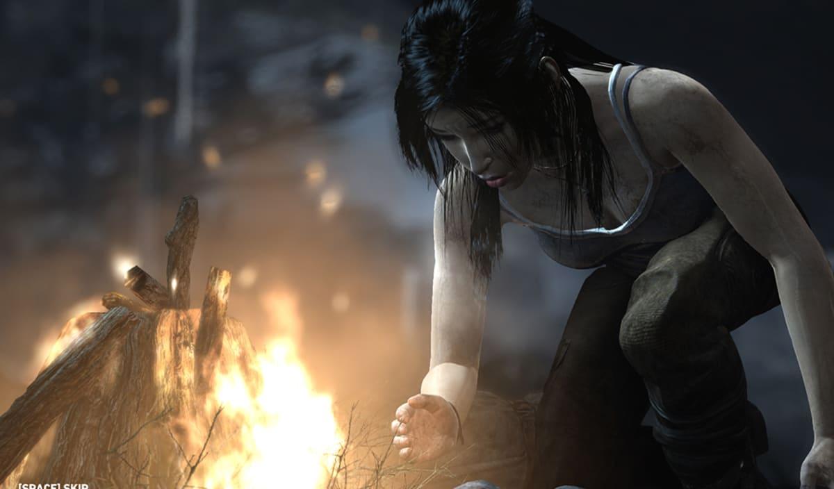 Tomb Raider -videopeli.