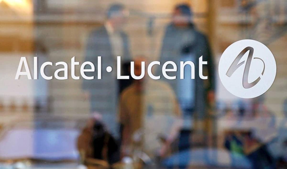Alcatel-Lucentin pääkonttori Pariisissa.