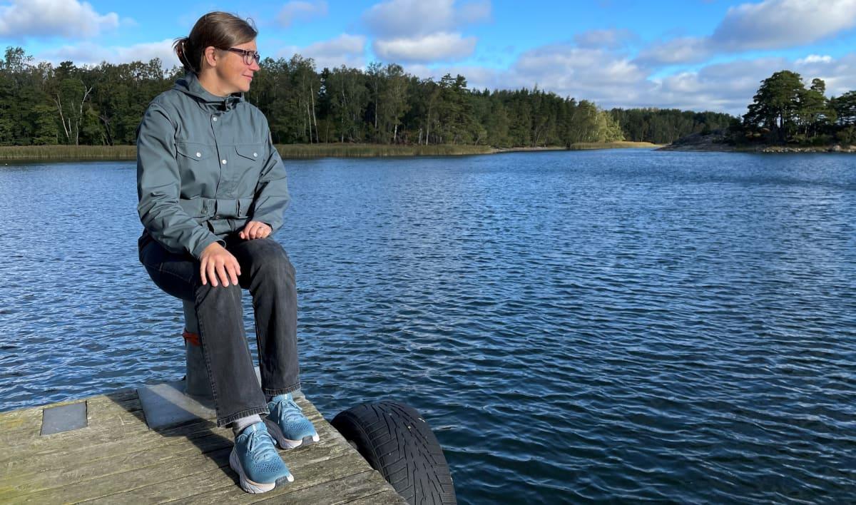 Joanna Norkko kuvailee Itämerta pieneksi ammeeksi. Ilmastonmuutoksen seurauksena se esimerkiksi lämpenee valtameriä nopeammin.