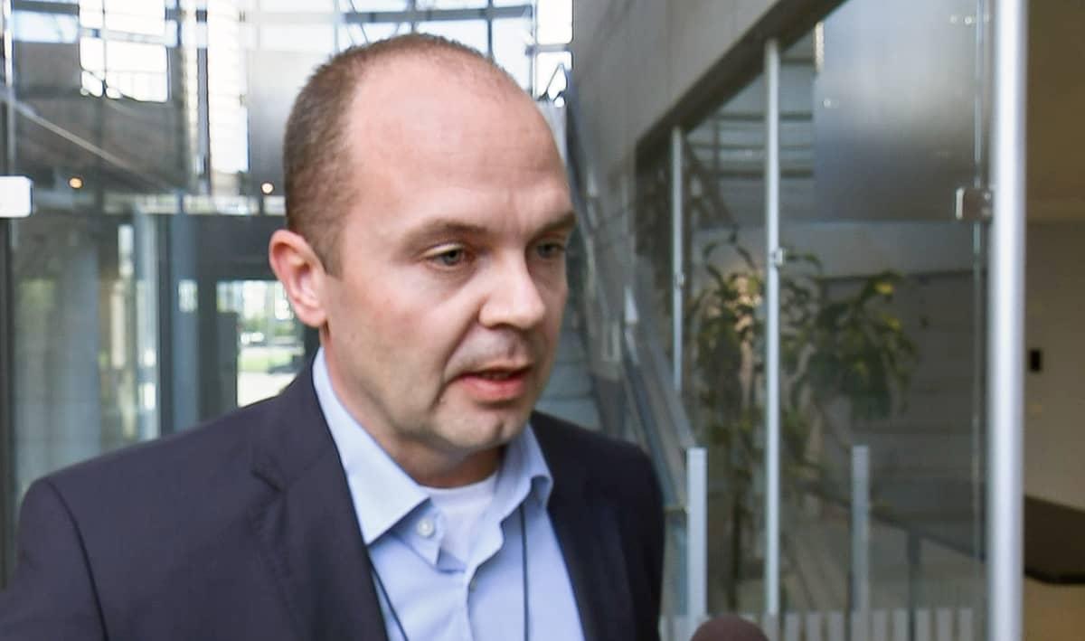 Tutkinnanjohtaja Tomi Taskila.