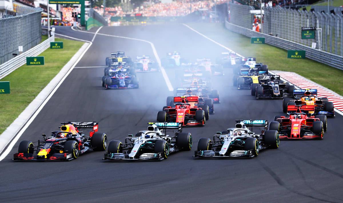Unkarin GP startti