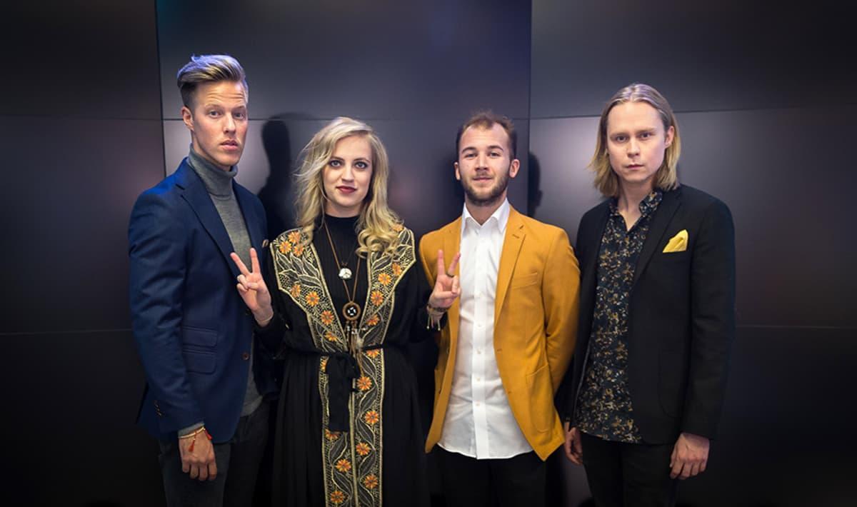 Haloo Helsinki -yhtye.