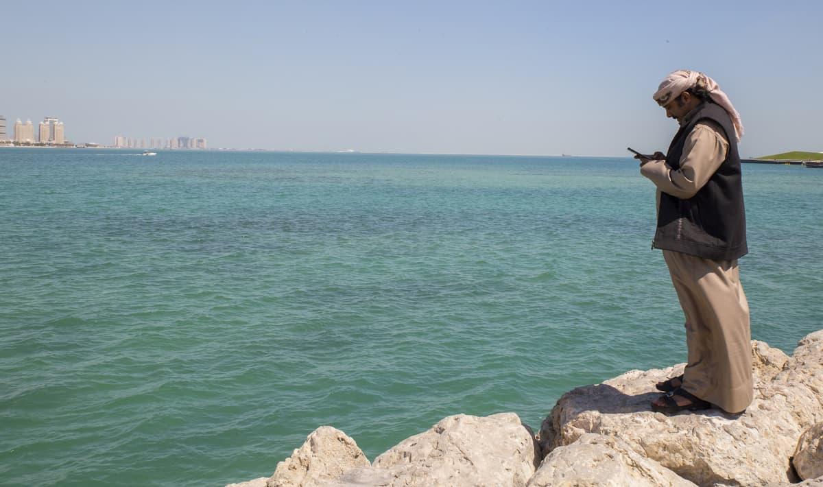 Siirtotyöntekijät viettävät Qatarissa yleensä useita vuosia.