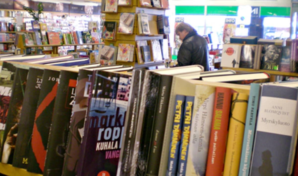 Kirjakauppanäkymä